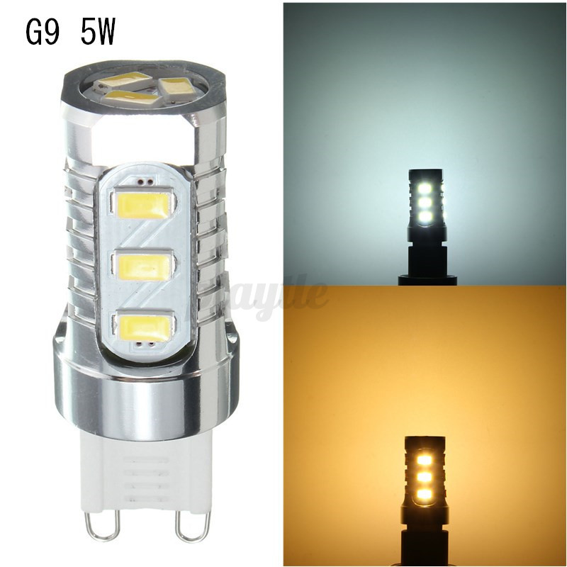 G4 G9 2/3/4/5/6/7/9W Dimmable SMD/COB LED Corn Light Bulb Silicone Crystal Lamp  eBay