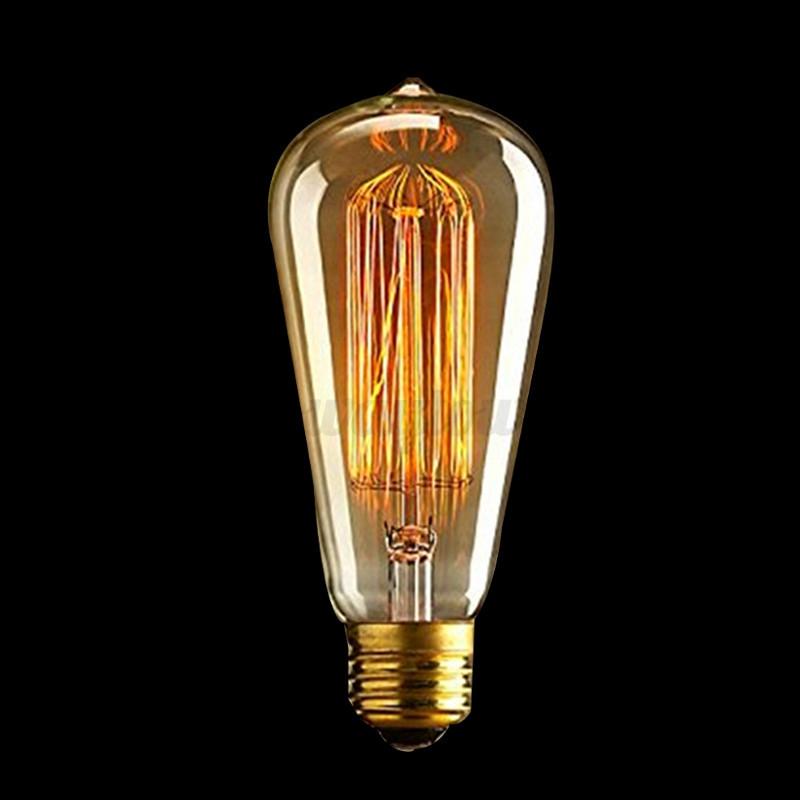 Lampadine e27 e14 b22 40w 60w edison vintage led lampada for Lampadine a filamento led