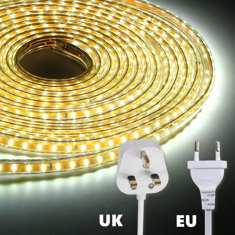1 20m 3014 led strip lichterschlauch leiste lichterkette lichtband 220v ip67 ebay. Black Bedroom Furniture Sets. Home Design Ideas
