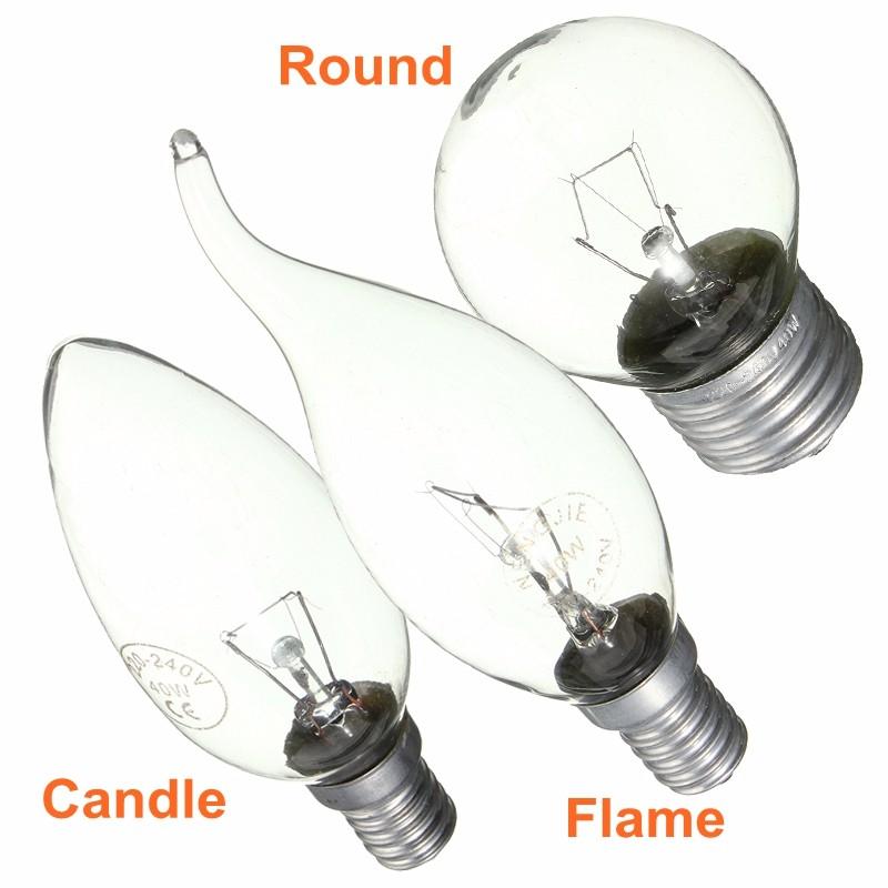 round flame candle golf incandescent light bulb 15w 25w 40w e14 e27 ac220v. Black Bedroom Furniture Sets. Home Design Ideas
