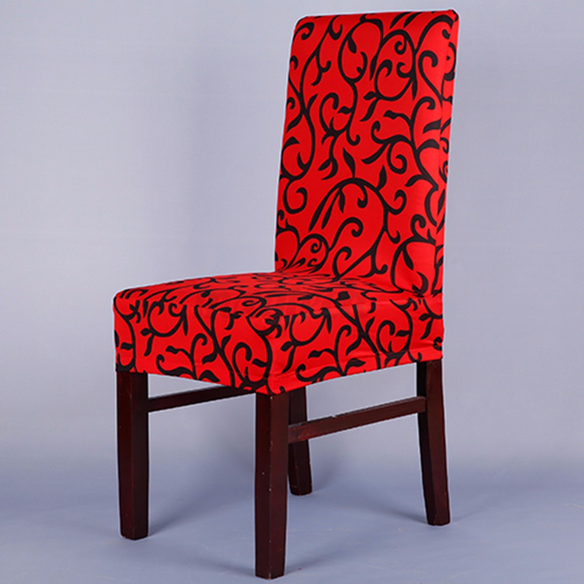 Removable Stretch Slipcovers Short Home Dining Room Stool ...