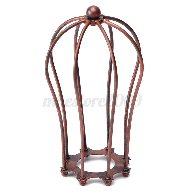 Industrial Vintage Antique Metal Wire Bulb Cage Guard