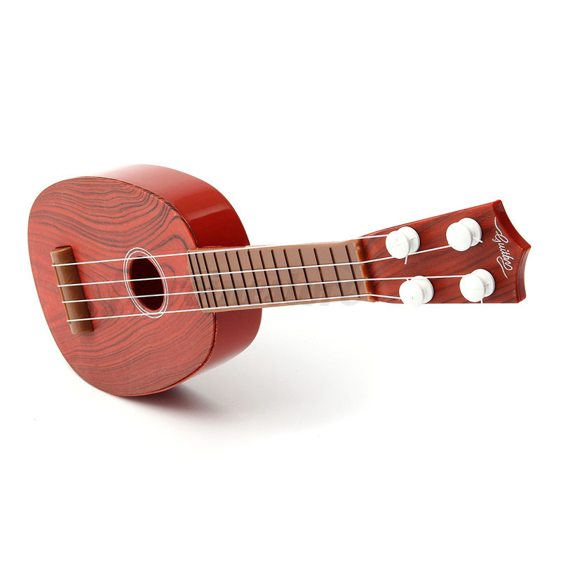 4 string guitar ukulele musical instrument kids children christmas xmas gift toy ebay. Black Bedroom Furniture Sets. Home Design Ideas
