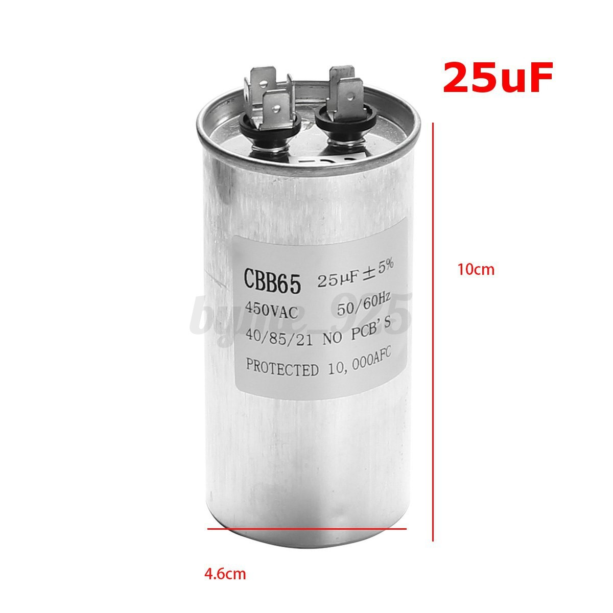 Cbb65 15 50uf ac 450v 50 60hz start motor capacitor air for Air conditioner compressor motor