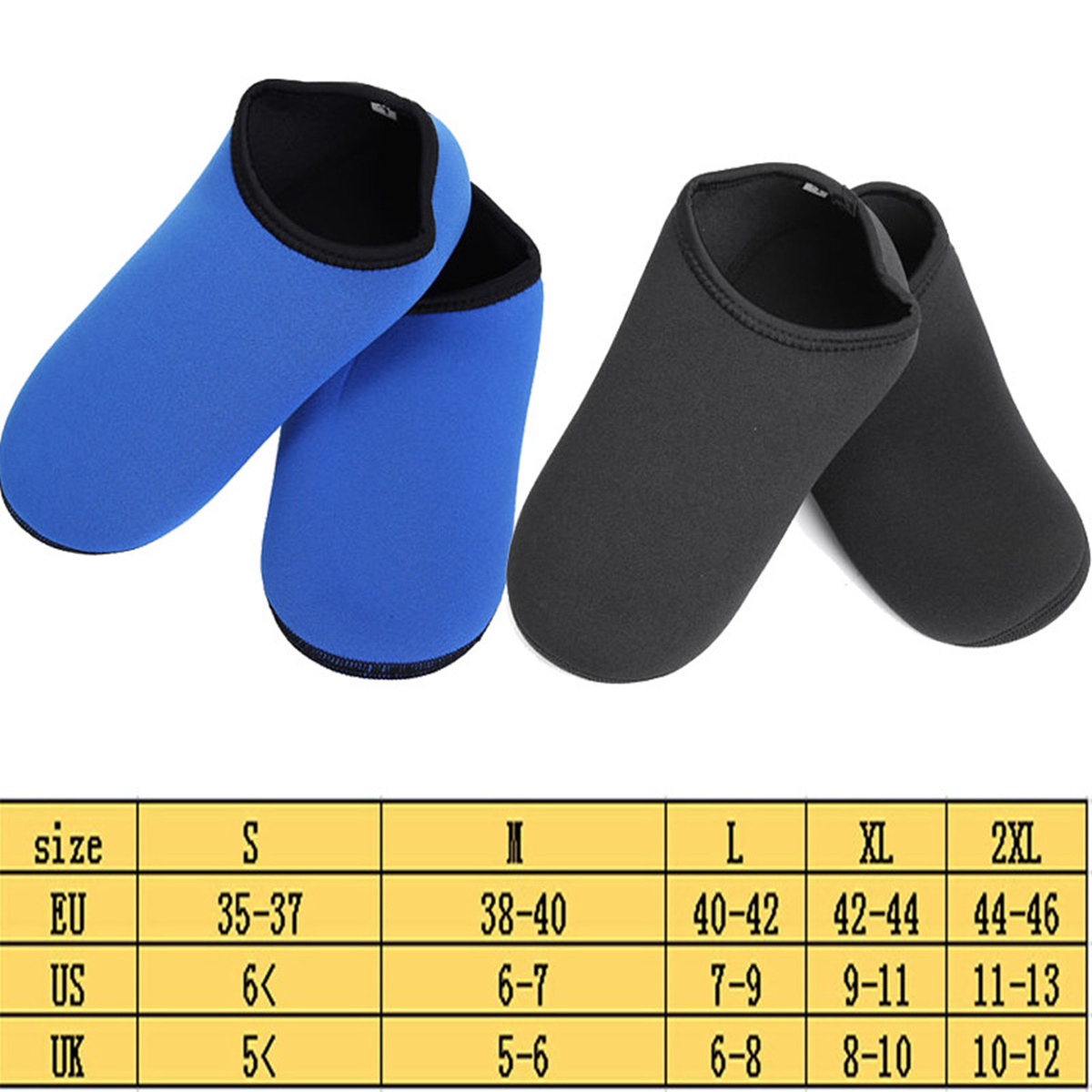 2.5mm Neoprene Water Shoes Aqua Socks Diving Wetsuit Non-slip Swimming Beach