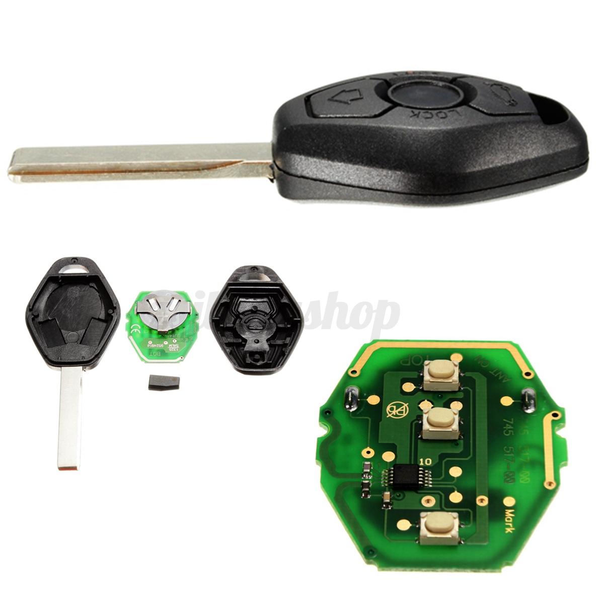 Remote Key Fob Keyless Entry 433MHz TRANSPONDER CHIP W