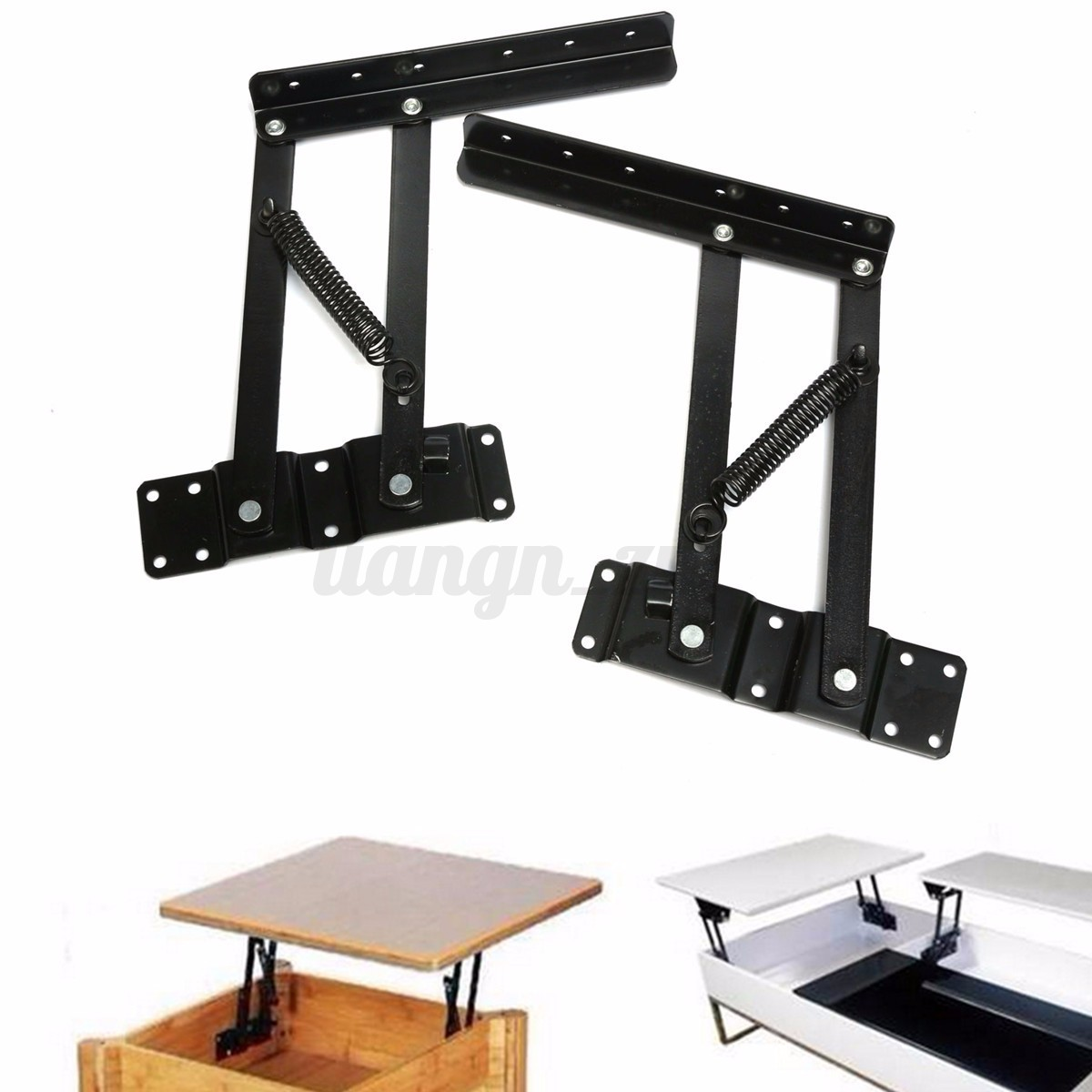 2pc Lift Up Top Coffee Tea Convertible Table Mechanism Hardware Spring Hinge Ebay