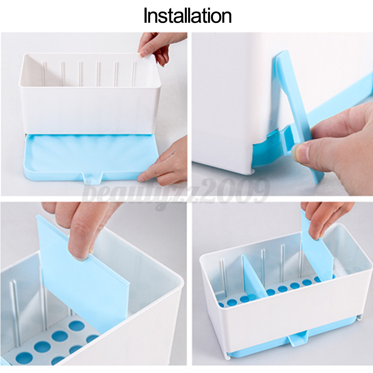 Kitchen brush sponge organizer storage sink towel draining rack strainer holder ebay - Seven different uses of the kitchen sponge ...