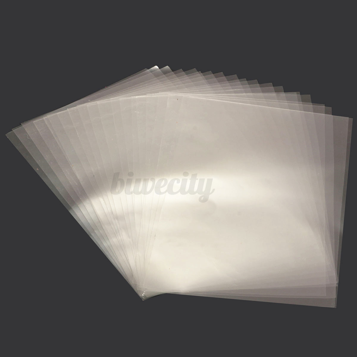 20pcs transparent acrylic a4 double sided adhesive tape for Clear plastic sheets for crafts