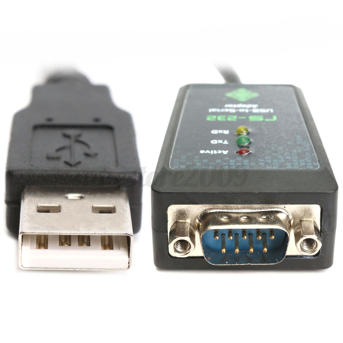 Iocrest usb to serial port converter cable wire rs232 db9 ftdi chipset 232a ebay - Usb serial port converter ...