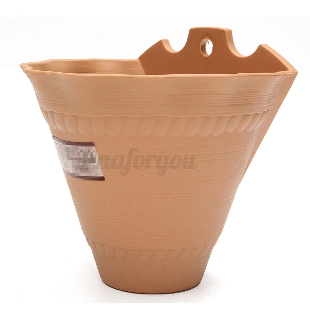Plastic Wall Hanging Storage Basket Plant Planter Flower