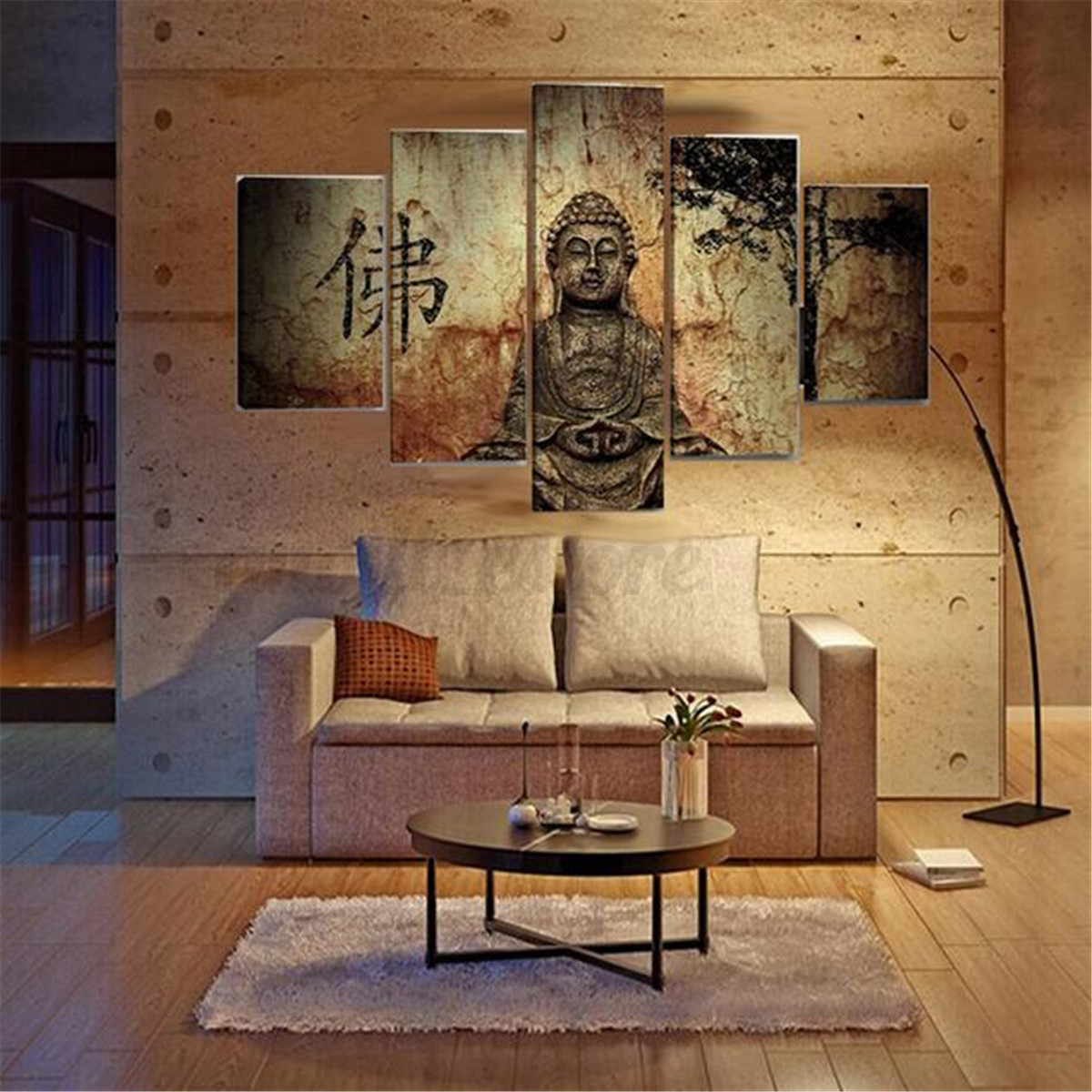 Unframed modern abstract art canvas painting picture wall for Canvas wall mural