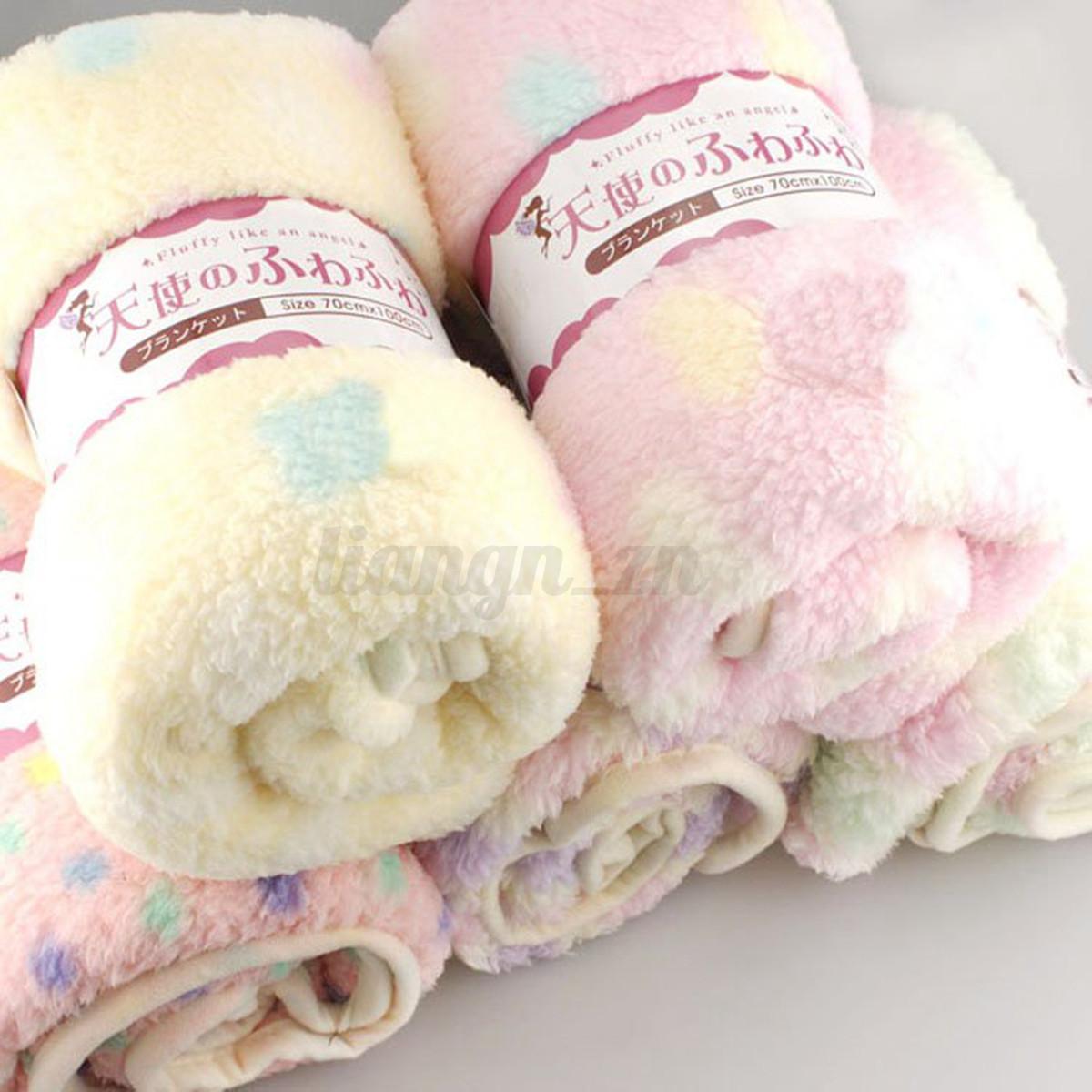 couverture polaire b b nouveau n douce velours couchage emmailloter blanket ebay. Black Bedroom Furniture Sets. Home Design Ideas
