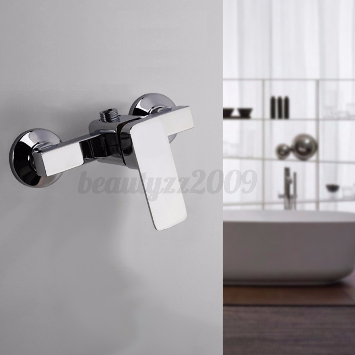 Bathroom Copper Kitchen Wall Mount Shower Head Bath Sink