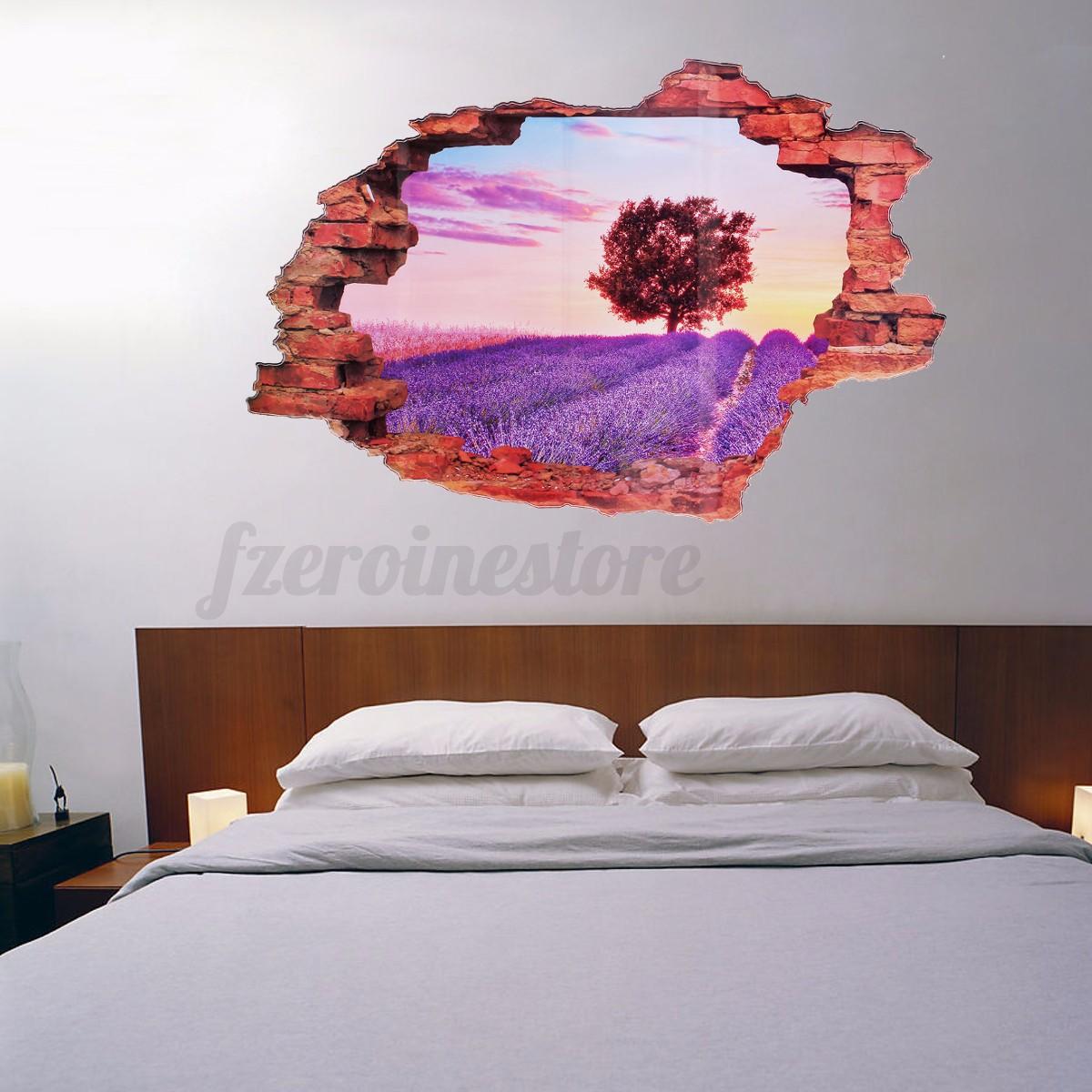 3d fenster landschaft wandtattoo wandsticker wandaufkleber kinderzimmer wandbild eur 3 97. Black Bedroom Furniture Sets. Home Design Ideas