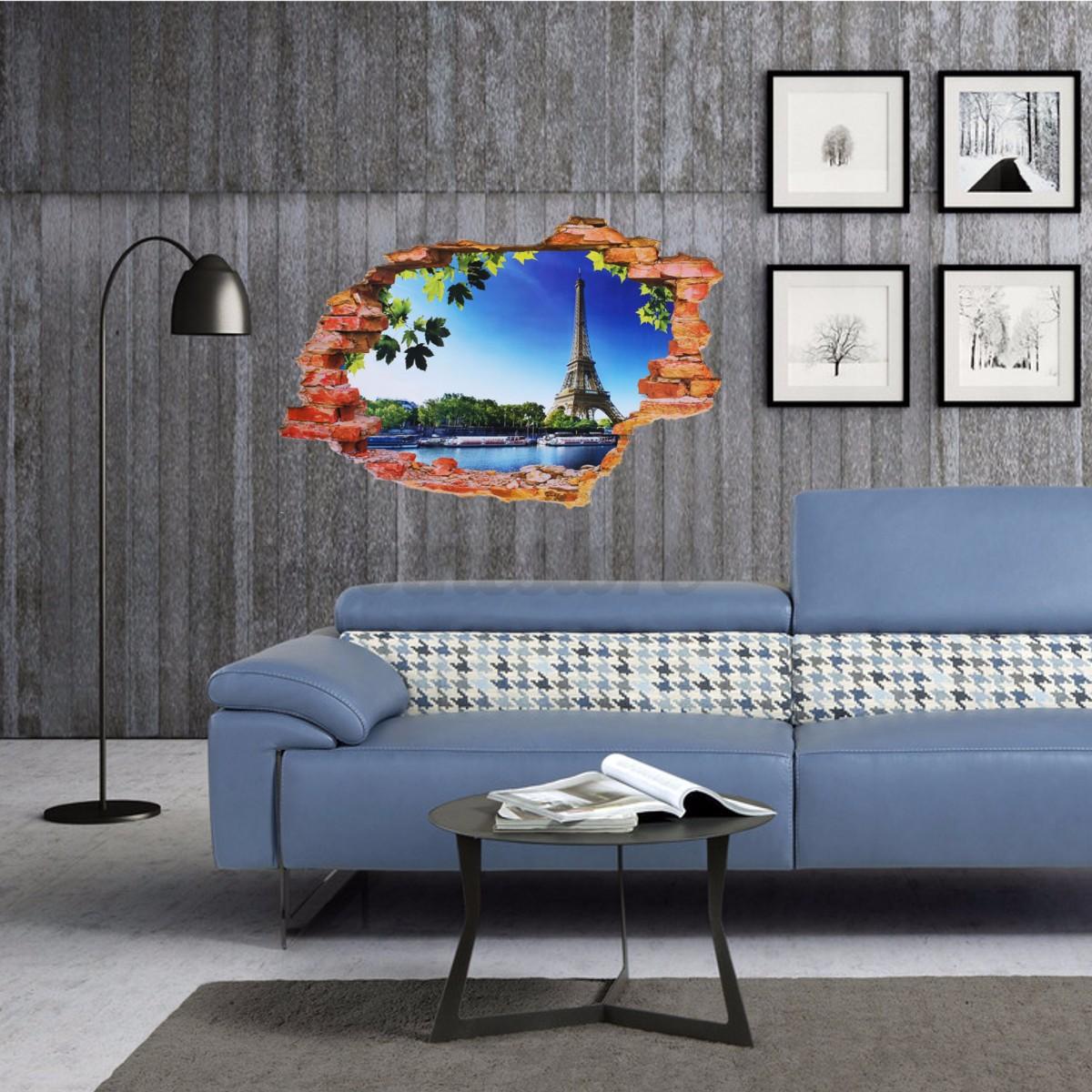 3d wandtattoo sch n g nstig 3d wandtattoo strand landschaft pvc fototapete 3d wandtattoo cliff. Black Bedroom Furniture Sets. Home Design Ideas