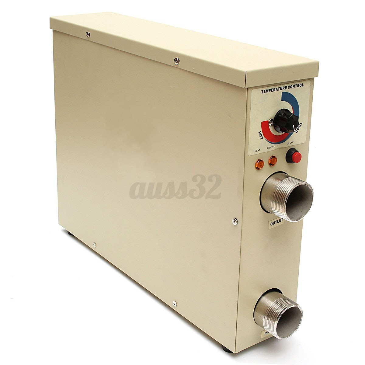 11kw Electric Hot Water Heater Thermostat For Swimming