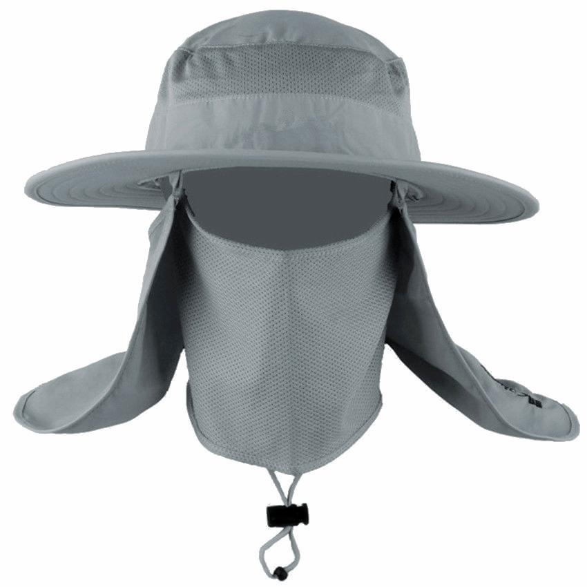 Women men hiking fishing hat outdoor sport sun uv for Fishing hats sun protection