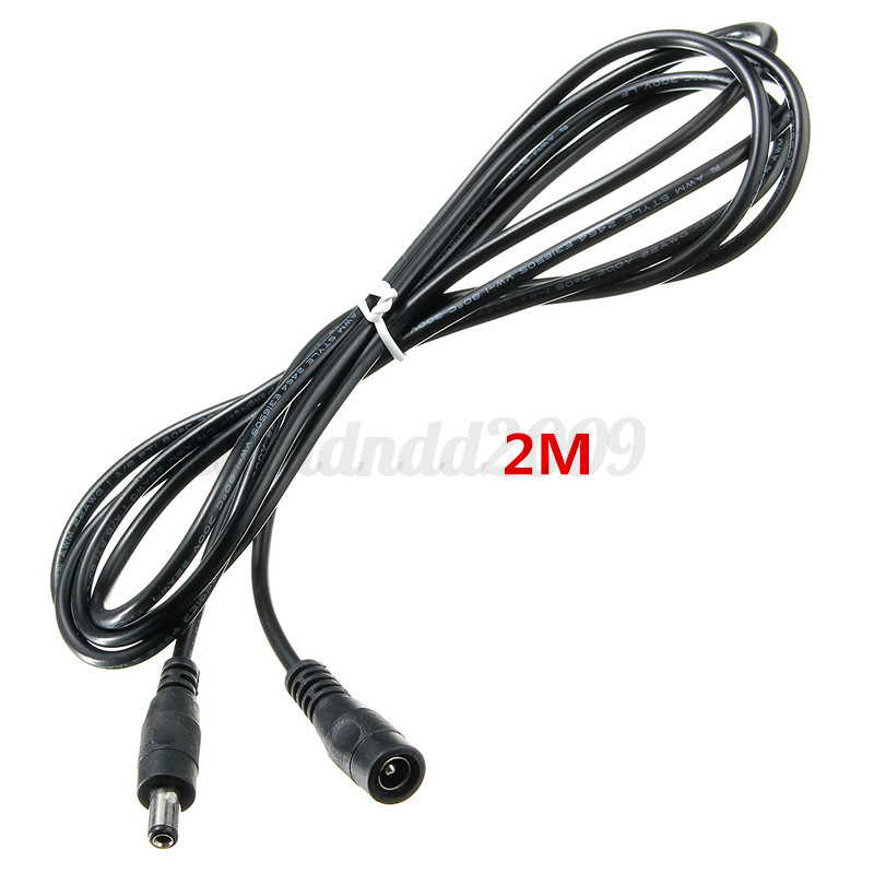 1 2 5 10m 5 5x2 5mm Dc 12v Power Extension Cable Cord