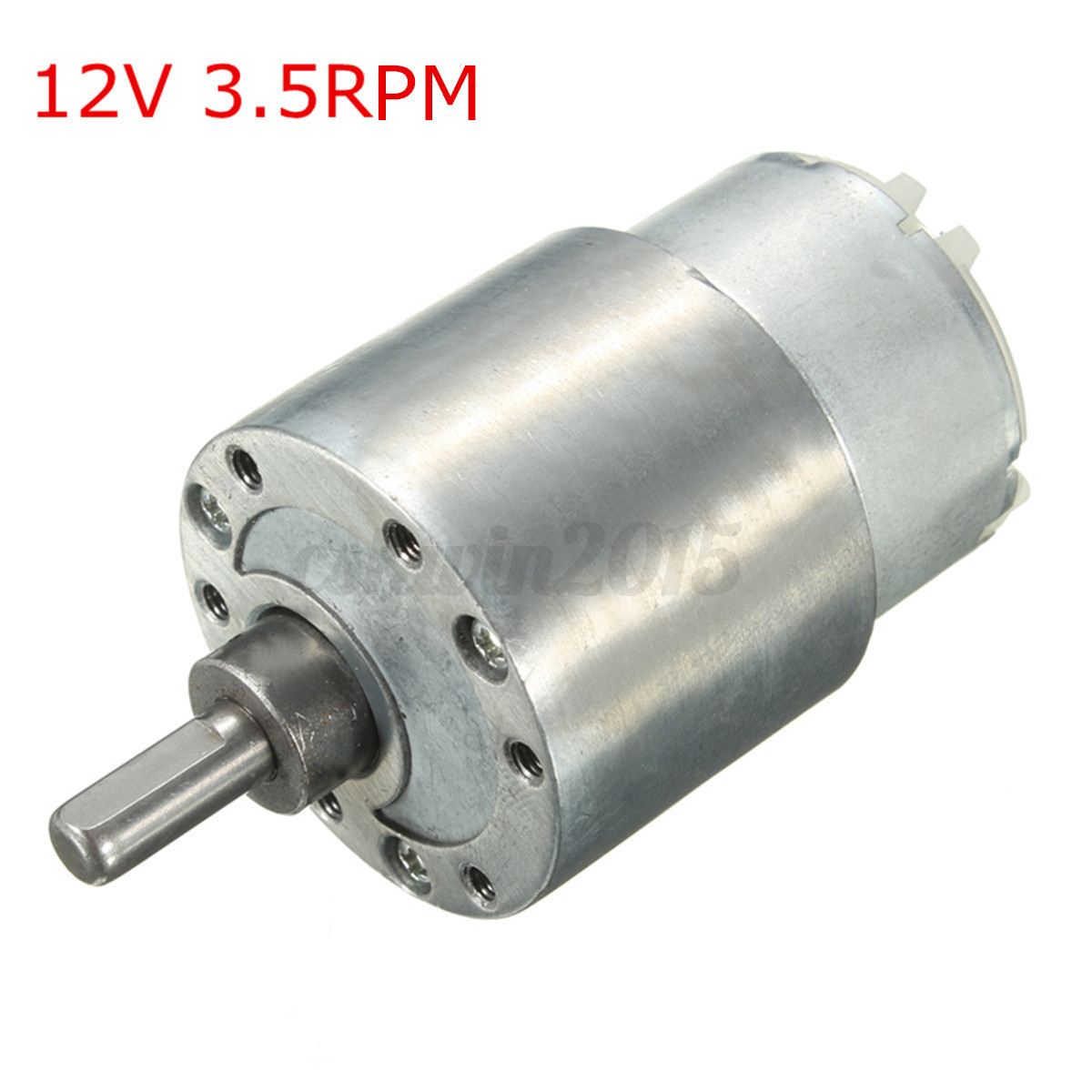 7 Type Dc 12v Metal High Torque Turbo Turbine Worm Gear