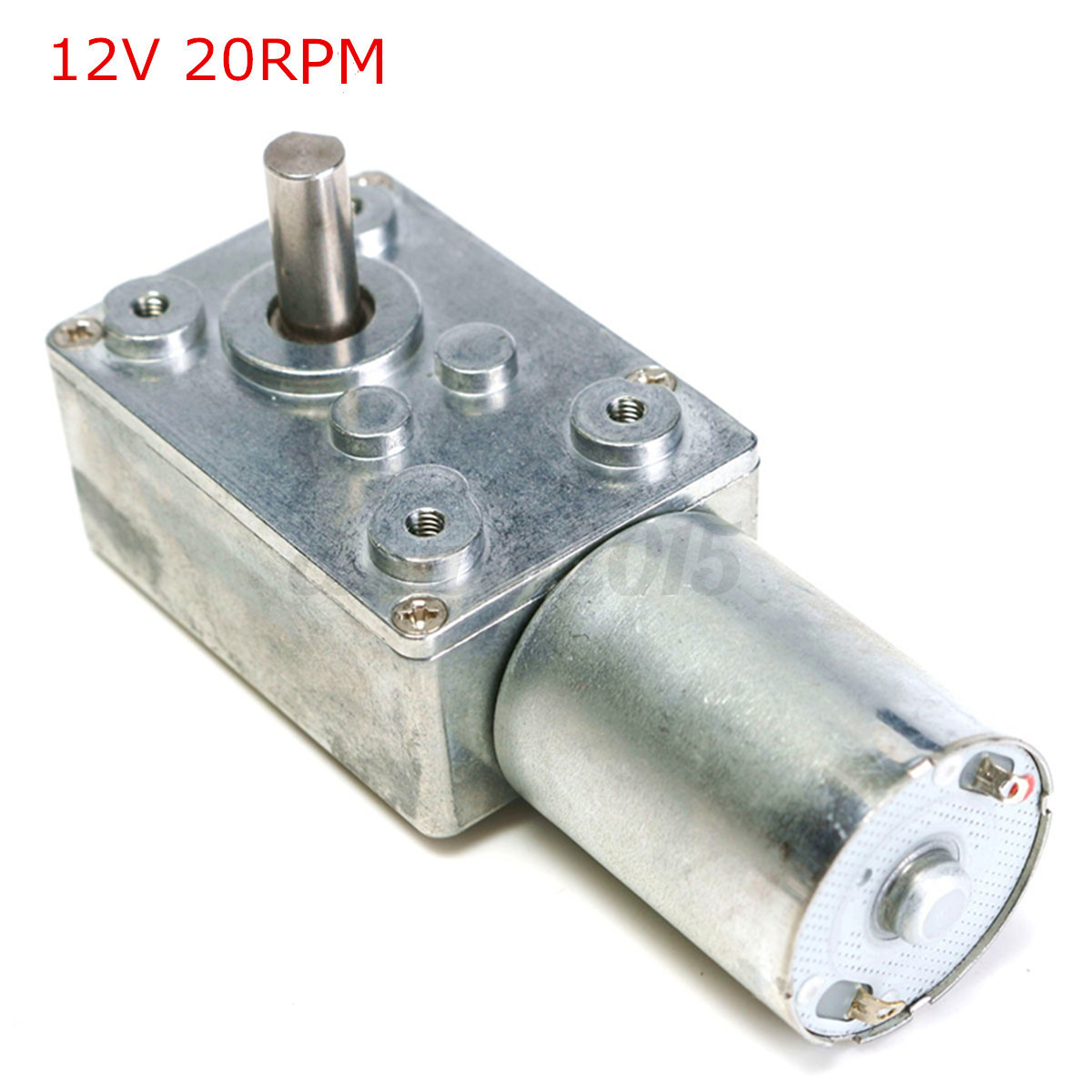 7 type dc 12v metal high torque turbo turbine worm gear for Worm gear drive motor