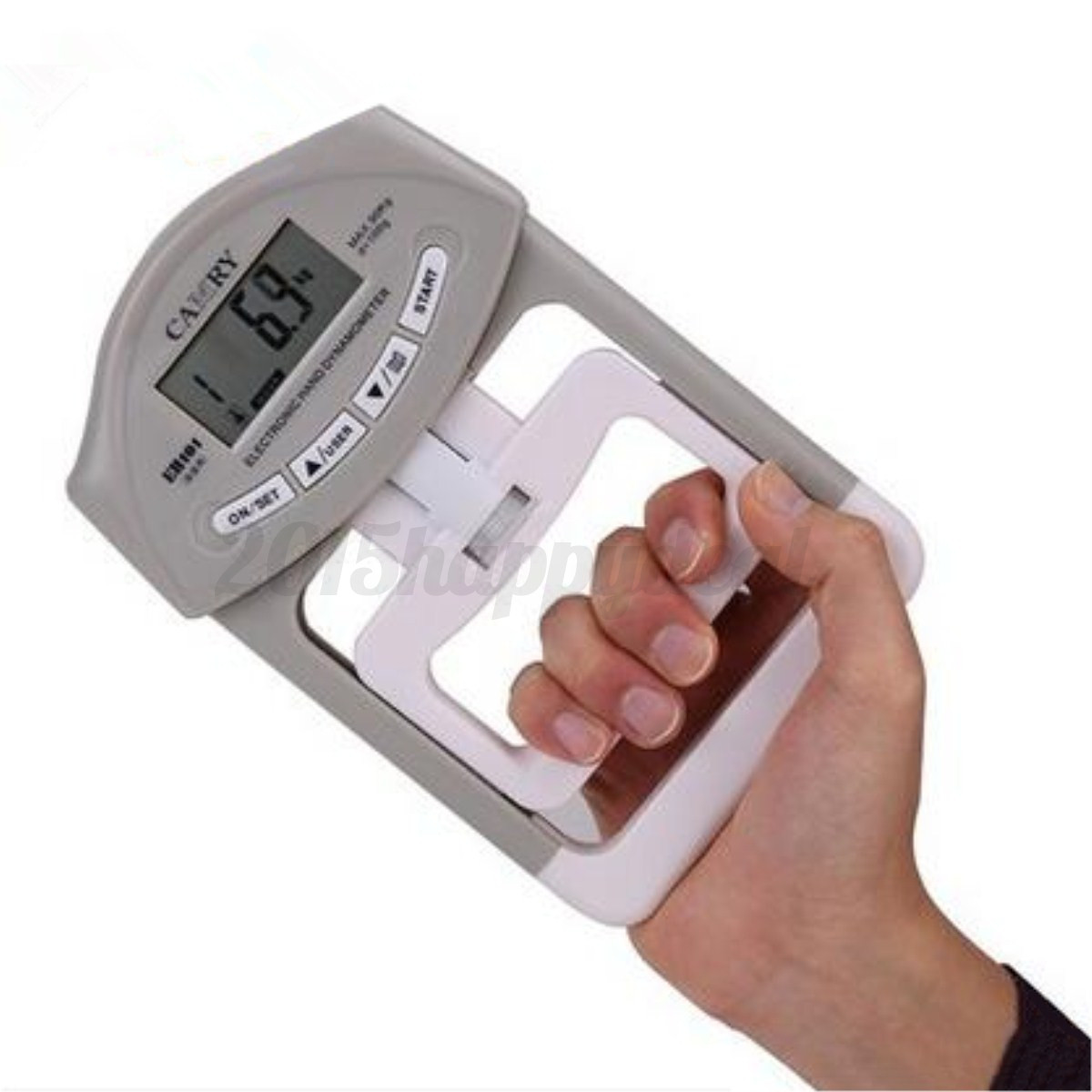 Hand Grip Dynamometer : Lbs kg electronic hand grip strength dynamometer