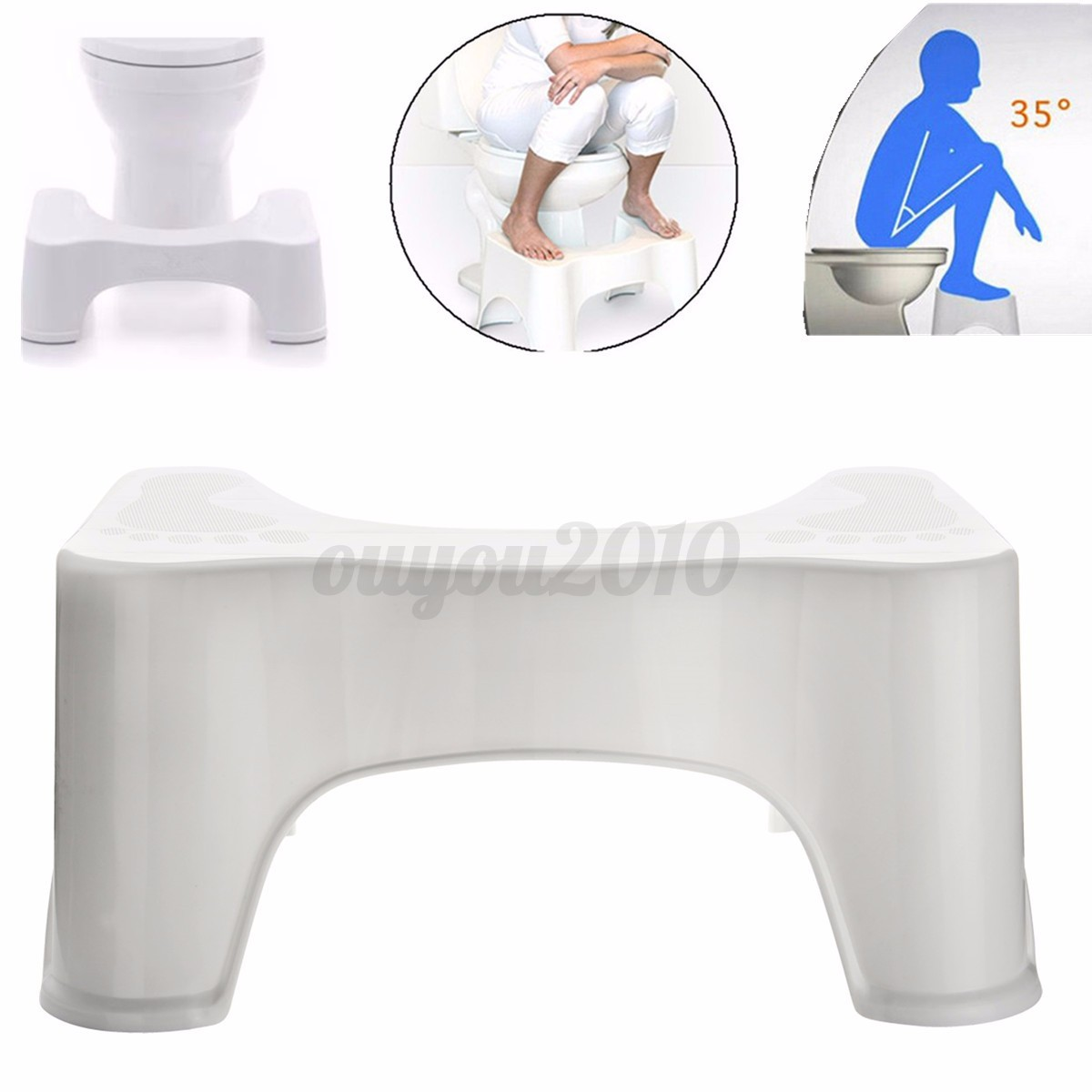 New 9 Squatty Potty Original Bathroom Toilet Stool
