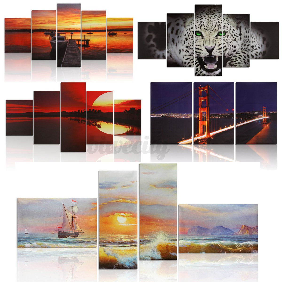 10 types modern abstract picture art canvas prints oil for Different types of abstract art