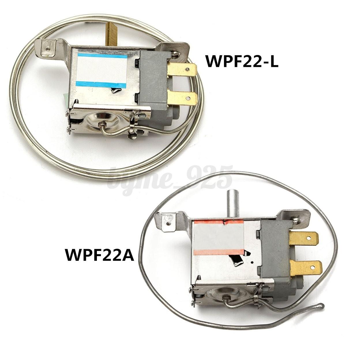 Temperature Controller Thermostat for Refrigerator WPF22-L 85cm WPF22A 30cm Cord