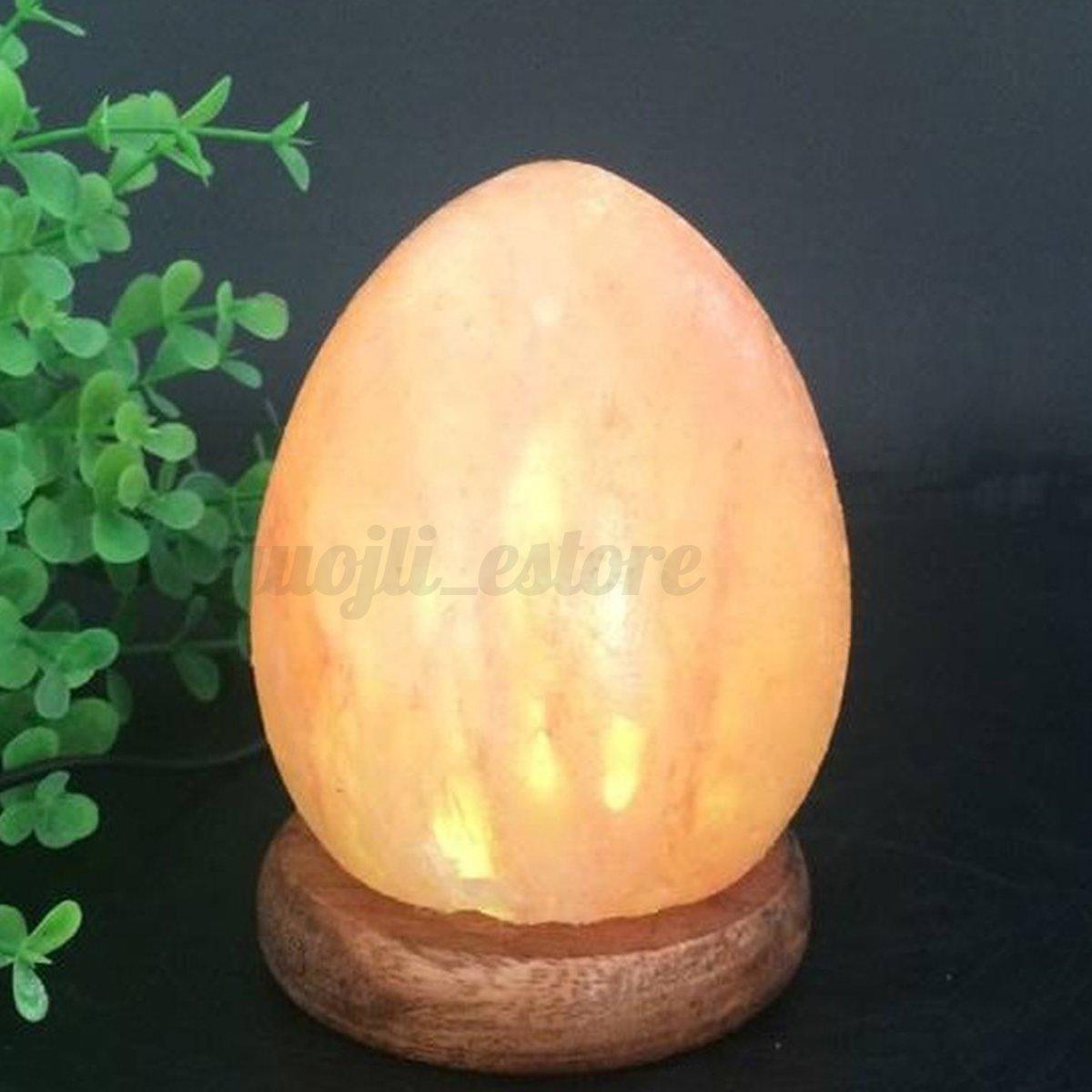 Salt Lamps Placement : Himalayan Natural Salt Lamp Crystal Rock Carved Egg Shape USB Color Change Gifts eBay