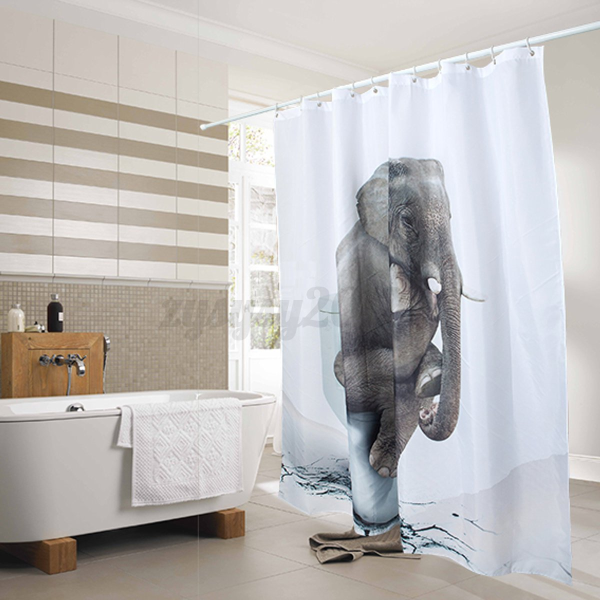Elephant bathroom