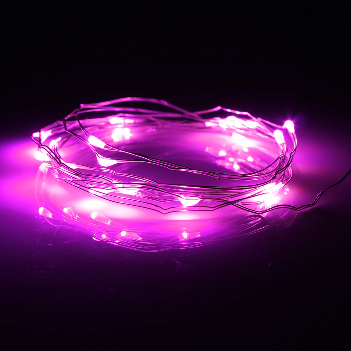 2M 20LED Button Cell Battery Powered String Silver Copper Wire Mini Fairy Lights eBay