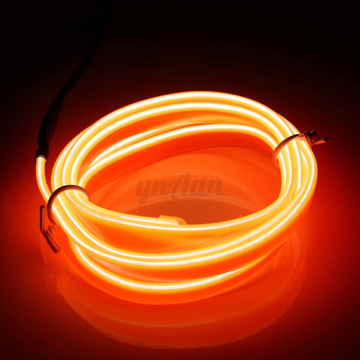 1/3/5M Car Interior Atmosphere Glow EL Wire NeonLED String Strip Light Rope Tube