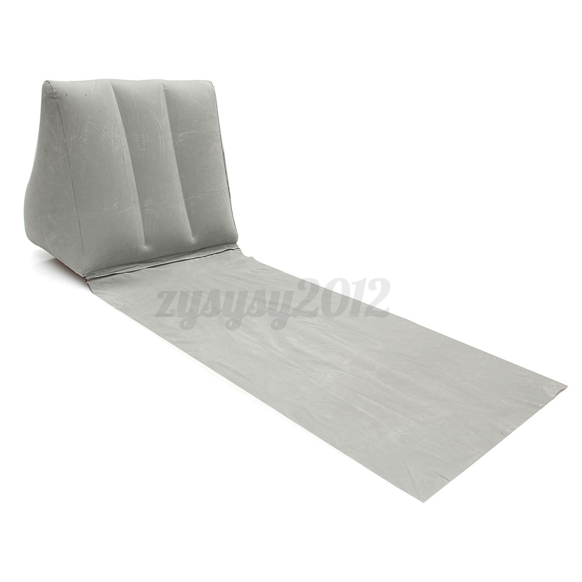 Camping matelas gonflable air plage transat oreiller pad for Chaise gonflable