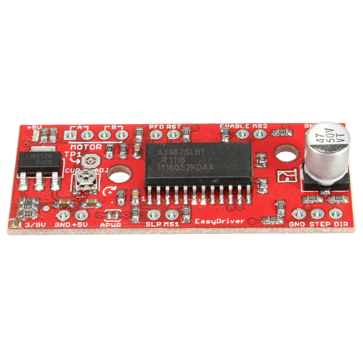 A3967 Easydriver Shield Micro Stepping Stepper Motor