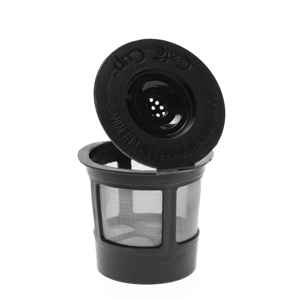 One Cup Coffee Maker With Reusable Filter : 6 Reusable Coffee Single Solo K-Cup + 1 Spoon For Keurig Replacements Filter Pod eBay