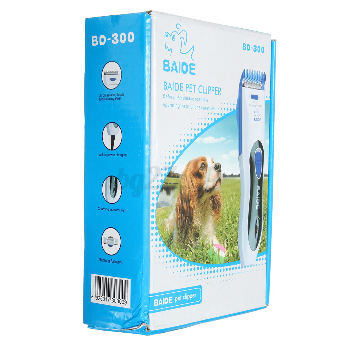 how to use electric shaver on dogs