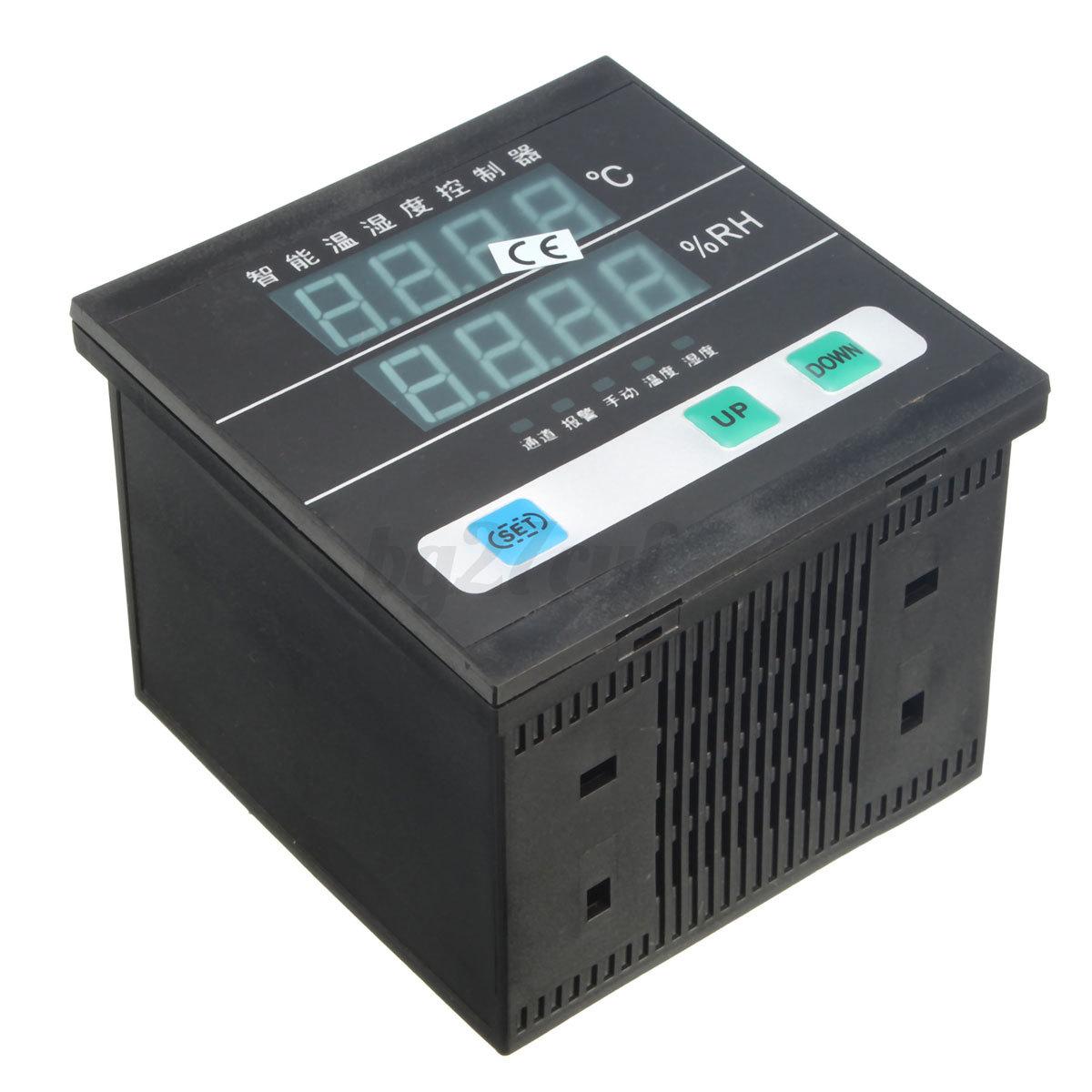 AC 220V Digital Temperature Humidity Control Controller 4 core Signal  #2AA190