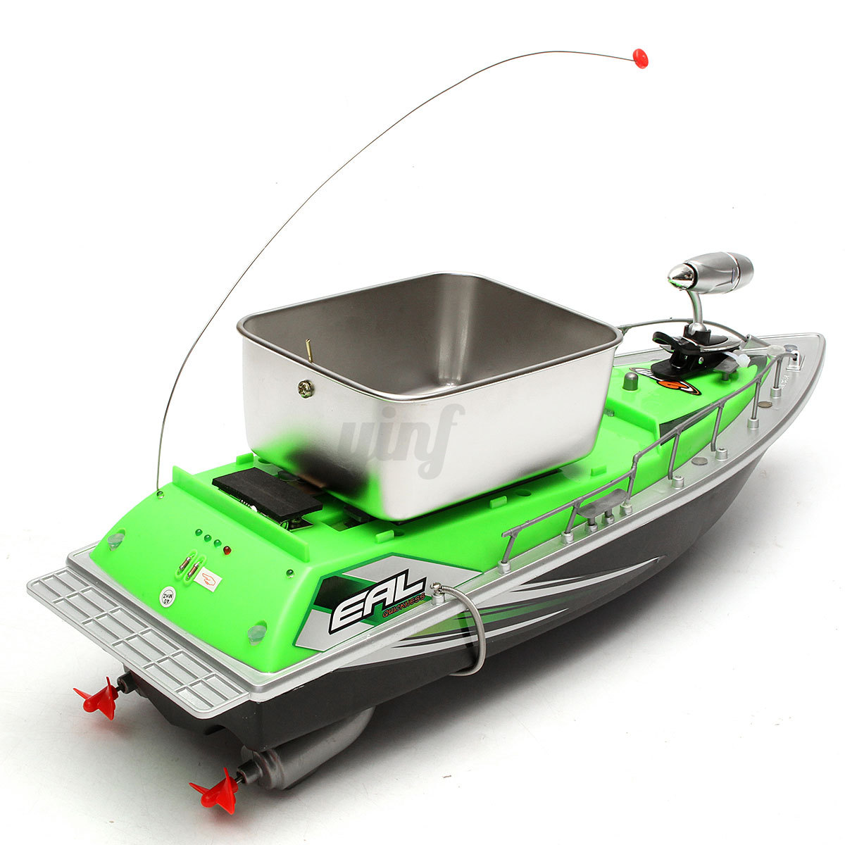 Remote control fishing bait boat lure 300 metres wireless for Rc boat fishing