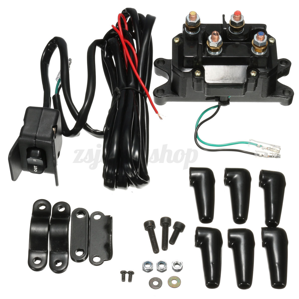 polaris winch contactor wiring diagram images parts diagram rocker switch wiring diagram besides warn atv winch as