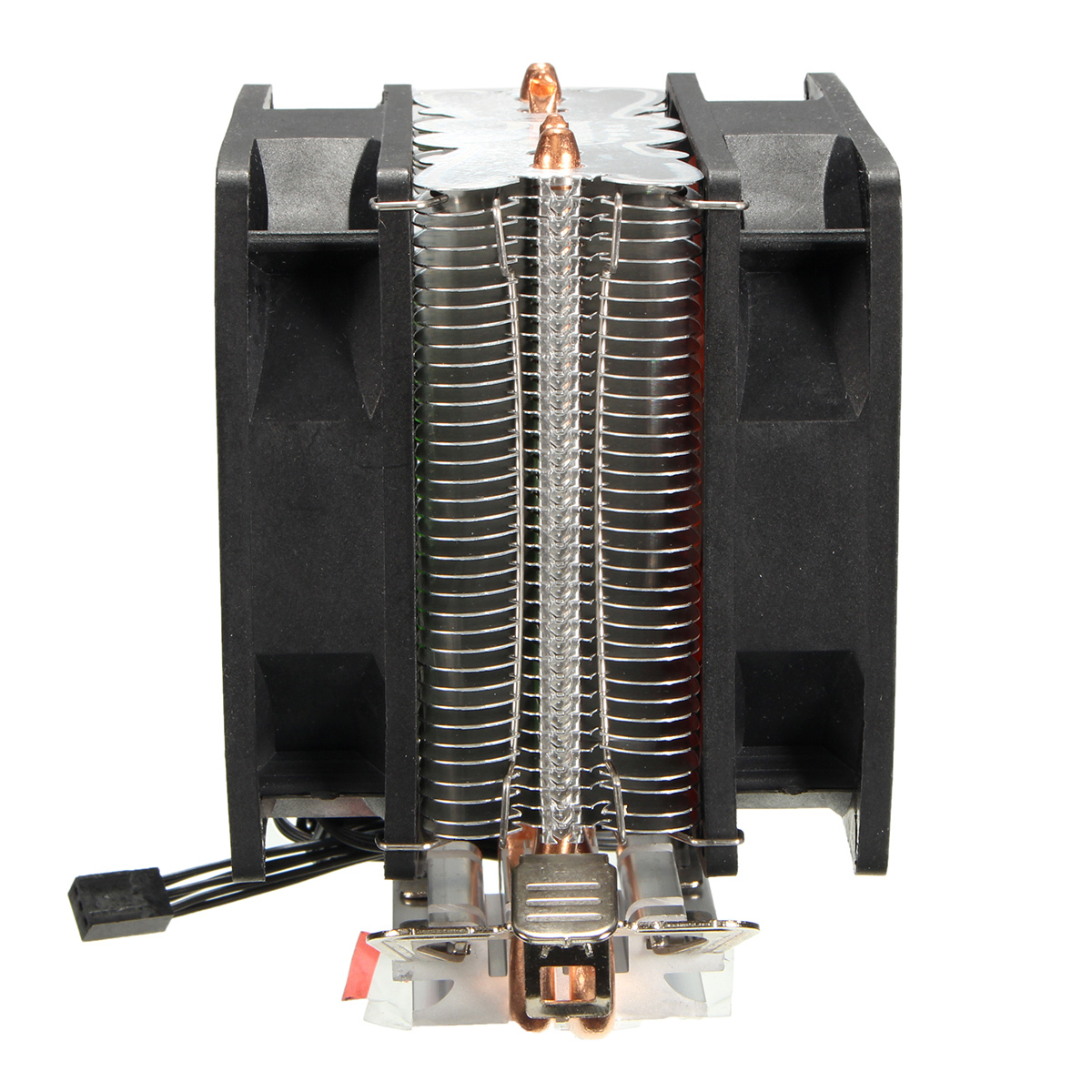 Dual Fan CPU Cooling Cooler Heatsink For Intel LGA775 1156