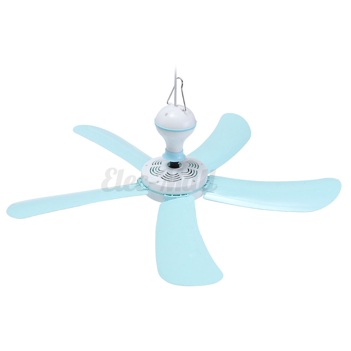 "17""/27"" 220V 5 Blade Mini Hanging Ceiling Fan Easy Hang"