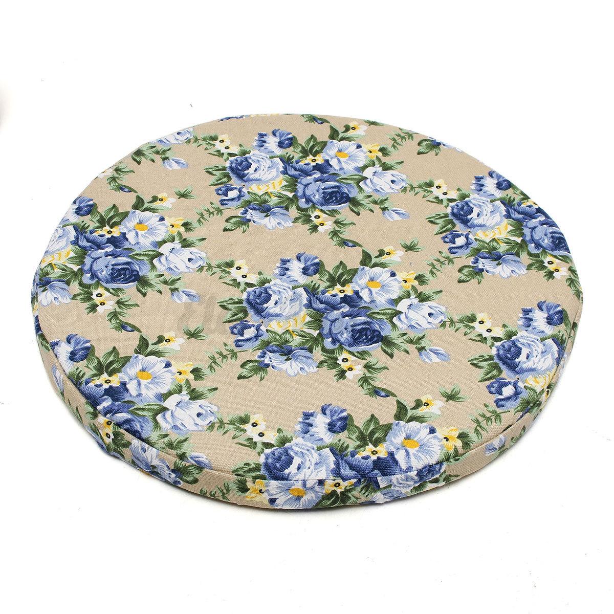 round bistro tie on kitchen dining patio seat pad mat. Black Bedroom Furniture Sets. Home Design Ideas