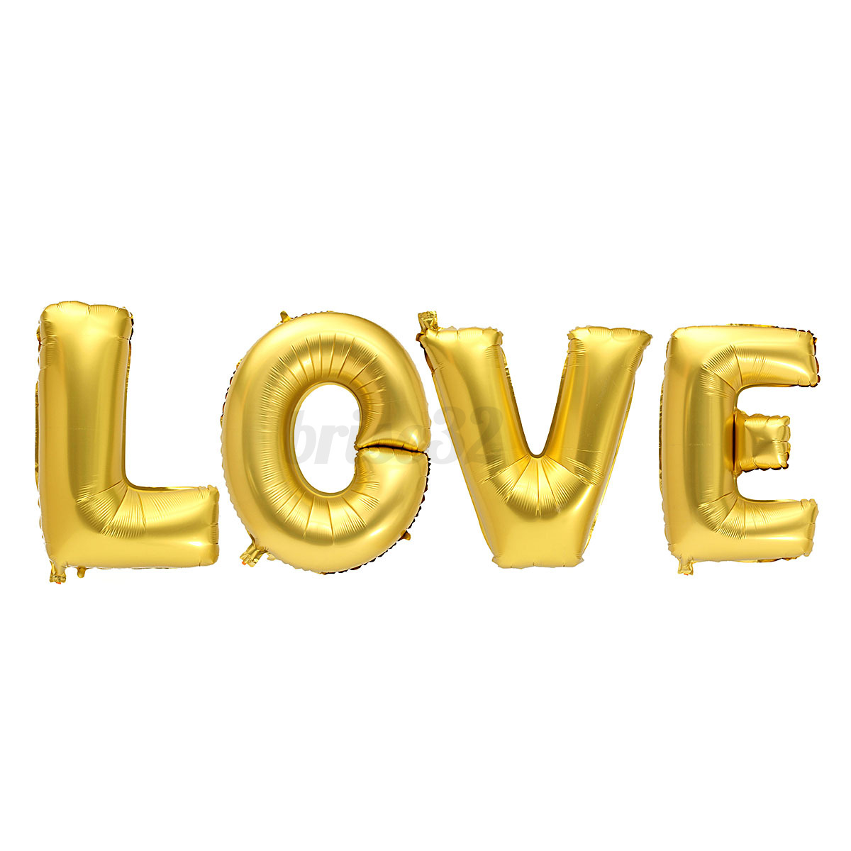 Alphabet Foil Silvers: 16/30/40 Inch Gold Silver Foil Balloons Mylar Baby Love