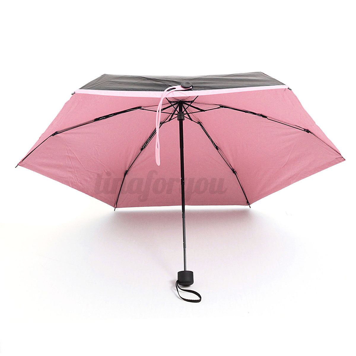 anti uv pocket parasol compact folding windproof rain sun protection umbrella ebay. Black Bedroom Furniture Sets. Home Design Ideas