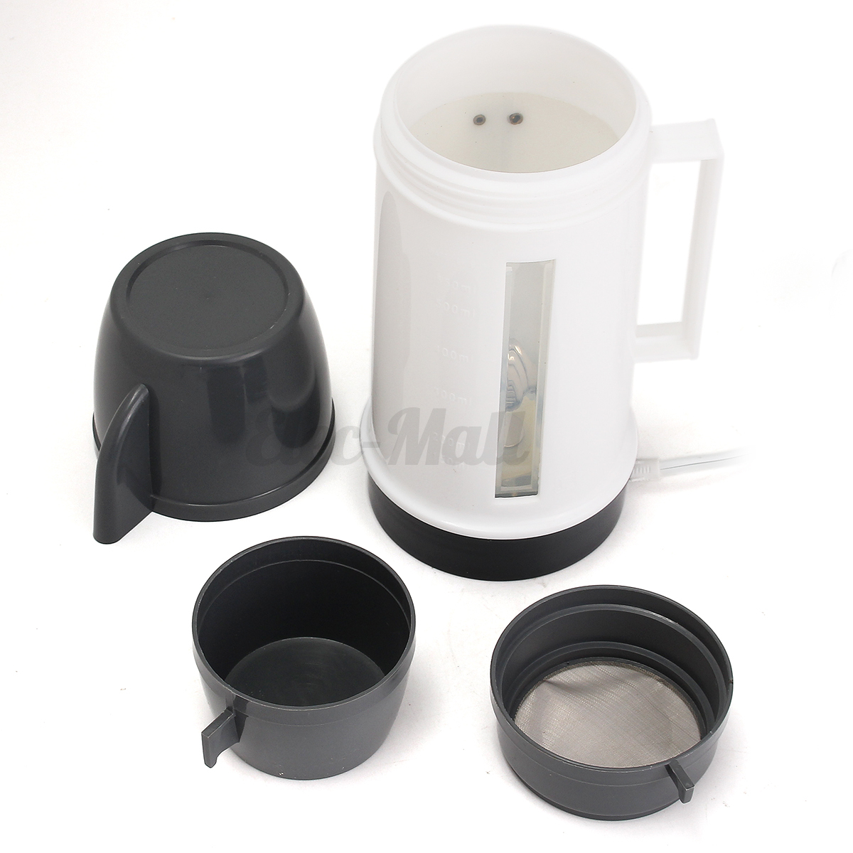 12v Portable Car Mains Water Heater Travel Coffee Warm