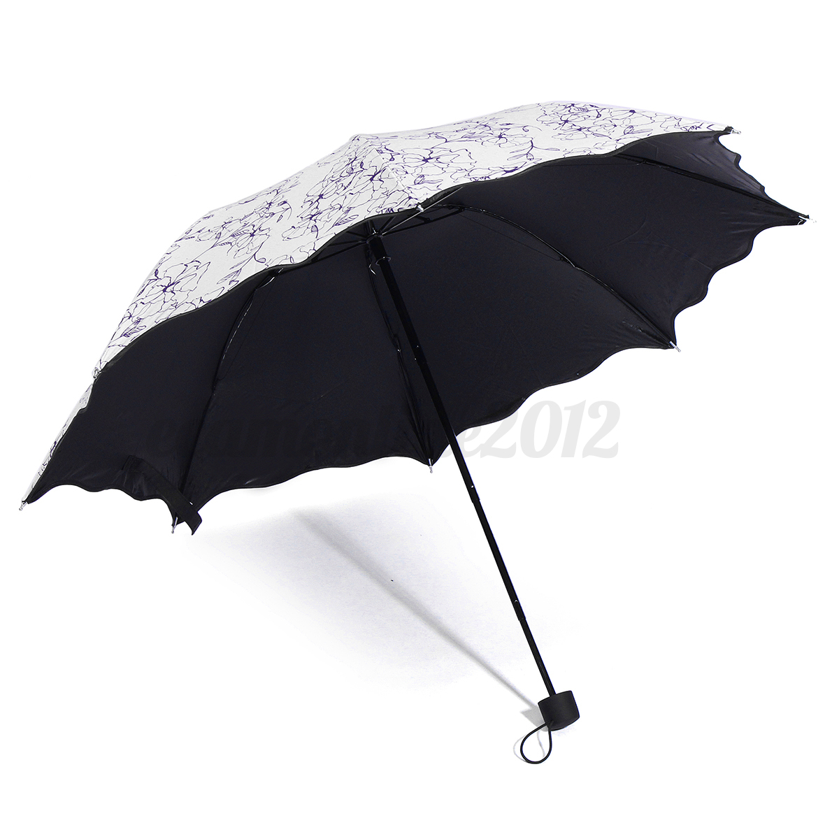 50 anti uv vent pluie umbrella parapluie ombrelle pliant. Black Bedroom Furniture Sets. Home Design Ideas