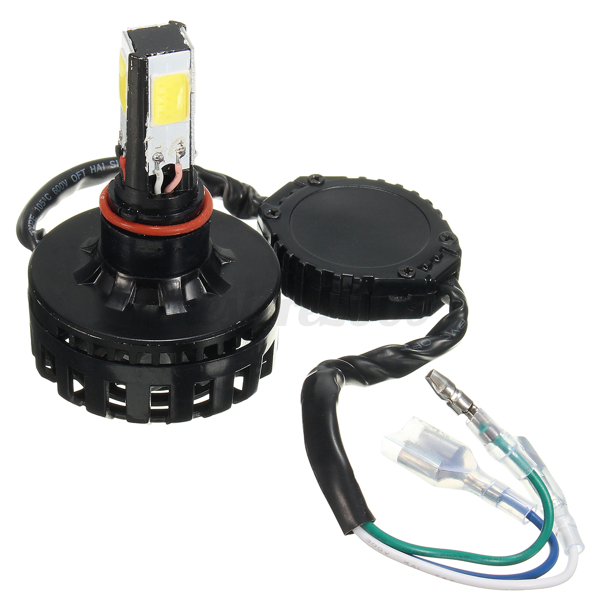motorcycle 12v cob led headlamp headlight bulb h4 h6 ba20d hi lo lamp 24w 3000lm ebay. Black Bedroom Furniture Sets. Home Design Ideas