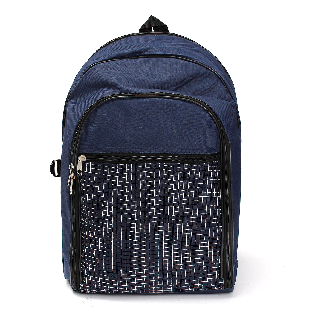 Picnic Basket Backpack Two : Deluxe pc picnic set service for insulated backpack