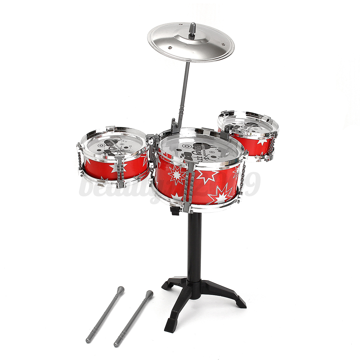 Toy Drum Musical Instruments : Jazz drum rock set child kids musical instrument early